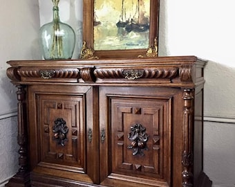 Antique French Server/ Buffet