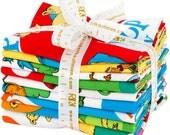 NEW- Robert Kaufman - Fat Quarter Bundle: Hop on Pop by Dr. Seuss Enterprises