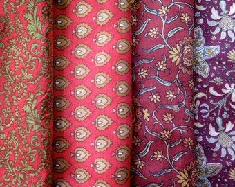 Fat Quarters, Silk Fabric, Sari Silk, FQ 194