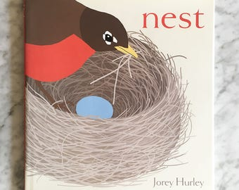 NEST Hardcover Children's Picture Book, Signed by Author