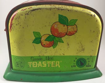 Vintage Sunnie Miss Child's Toaster, 1950's