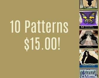10 Pattern Summer Deal!