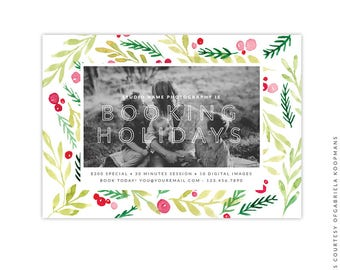 Christmas Marketing Ad - Instant download - e1527