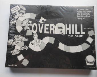 Over The Hill Board Game Vintage New Sealed Gag Gift