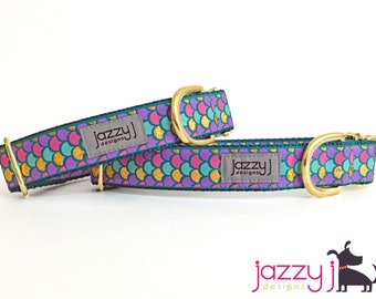 Mermaid Glam Dog Collar