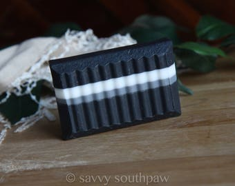 Mens Activated Charcoal Soap with Shea butter