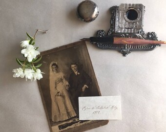 Handwritten Genealogy Labels for Photographs and Albums