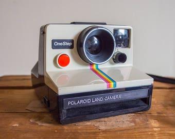 Polaroid One Step, Polaroid, One Step, Instant Film, Film, Film Camera, Camera, Vintage, Vintage Camera, Polaroid Land Camera, 1970's, sx-70
