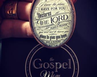 Jeremiah 29:11 pendant