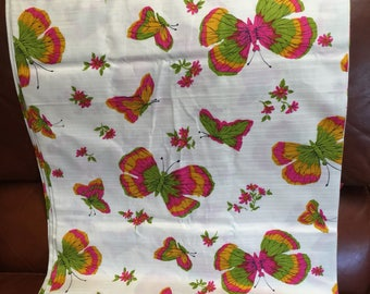 Vintage Ameritex Butterfly Fabric By the Yard (5 Available)