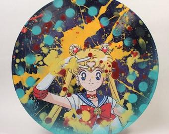 Sailor Moon vinyl record anime artwork