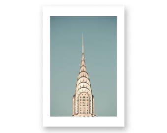 New York photography, canvas art, large wall art, New York print, New York prints, New York City, NYC, New York canvas wall art, Chrysler