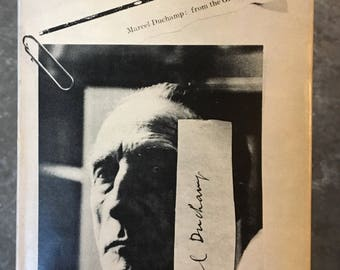 Marcel Duchamp: from the Green Box - 1957 Readymade Press, limited to 400 copies!!!