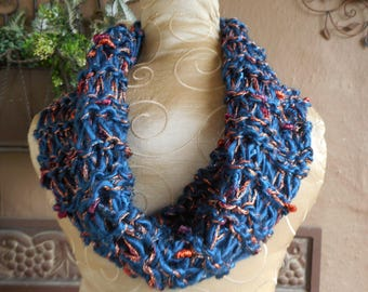 hand knit cowl, hand knit cowls