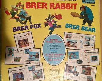 Walt Disney Brer Rabbit Songs of Uncle Remus Vintage Vinyl Record