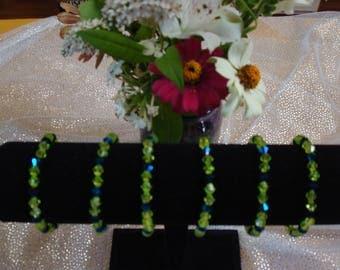 Seattle Seahawks Bracelet; 12th Woman Accessory; Seahawks Jewelry; Handmade Seattle Seahawks Bracelet; Legion of Boom; Seahawk Nation decor