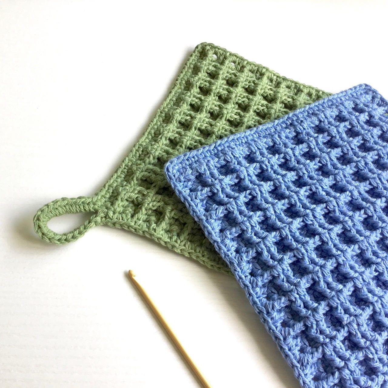 Crochet dishcloth pattern beginner crochet pattern waffle this is a digital file bankloansurffo Gallery