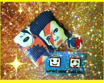 David Bowie, Duct Tape Wallet, Good and Evil Creations, Bowie, Glam Rock