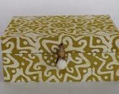 Gift box with African fabrics - 20x14.5x8cm