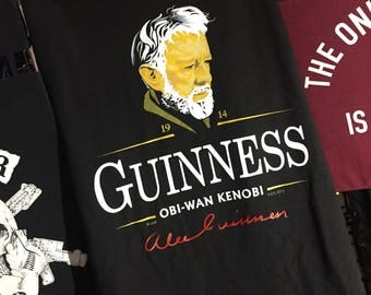 "Star Wars ""Alec Guinness"" Tshirt"