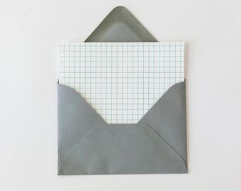 Blank Note Cards Set of 4