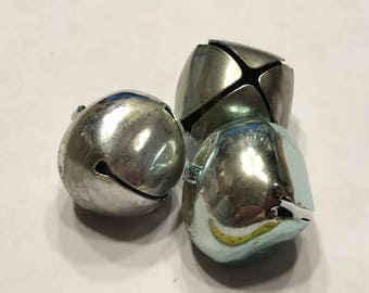 4 large Vintage jingle bells, 40 mm (HR22)