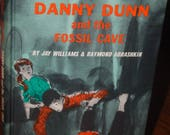 Danny Dunn and the Fossil Cave, Hardback Edition 1969