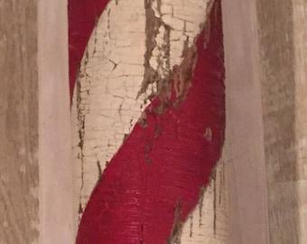 Antique Barbershop Pole