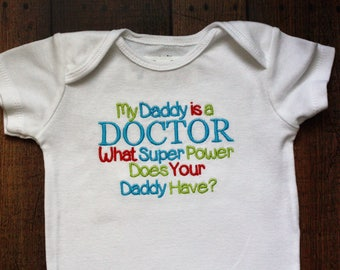 My Daddy is a DOCTOR What Super Power Does Your Daddy Have?