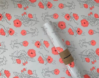 Poppy Wrapping Sheets