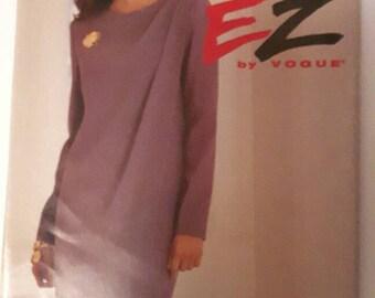 Ultra EZ Vogue Vintage Discontinued Sewing Pattern 8738