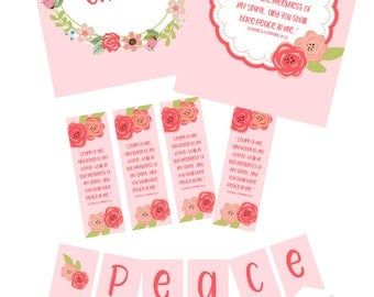 Peace in Christ - LDS 2018 Mutual Theme Printables