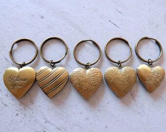 Heart Keychain locket