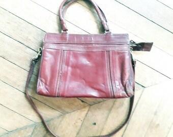 Vintage 70 leather bag