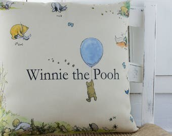 Winnie the Pooh Pillow Classic winnie the Pooh Nursery or Gift Pillow