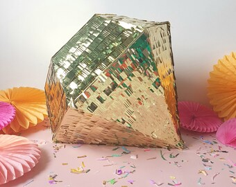 Metallic Diamond Pinata