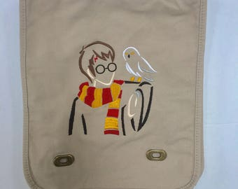 Harry Potter messenger bag Hedwig Gryffindor
