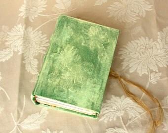 Vintage Junk Journal, Diary, Notebook, Art book, Guest book