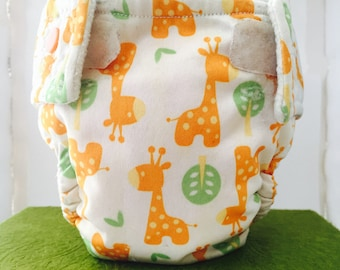 Cloth Diaper (with or without pocket) Snaps- NB to LRG