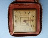 Vintage Travel  Clock New Haven