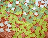 RESERVED FOR KATHERINE - Rare Yuzen Momiji Vintage Japanese Tango chirimen silk kimono fabric