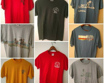 Vintage and vintage style t-shirts