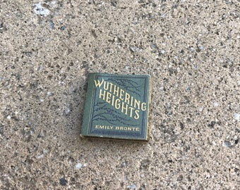 Wuthering Heights by Emily Bronte Classic Miniature Book - 1:12