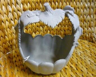 Ready to Paint Ceramic Pumpkin Basket