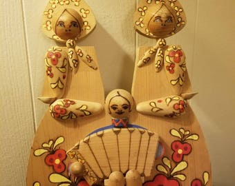 Russian folk art from the 80s