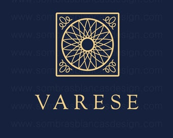 OOAK Premade Logo Design - Italian Tile - Perfect for a high end restaurant or a luxury cosmetics brand