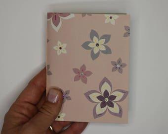 Mini libreta Flores