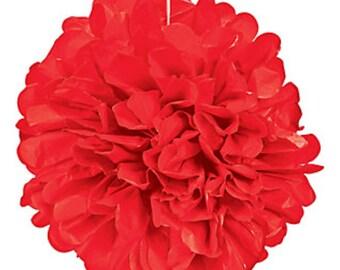 Paper ball is 10cm red silk tassel