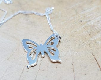 Butterfly Necklace Butterfly Gift
