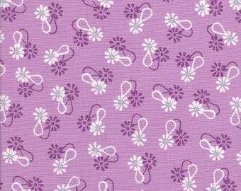 Daisy Fabric - Lavender Fabric - Purple Fabric - Hello Jane Fabric - Windham Fabric